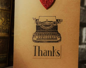 Thank You Card Handmade- Greeting Card