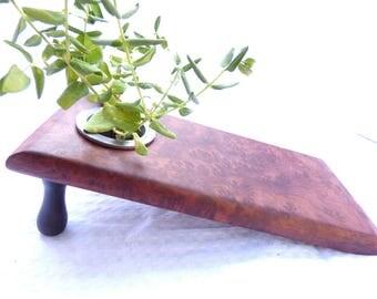 Ikebana Vase (Redwood Burl)