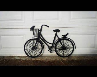 Metal Bike Art outoor
