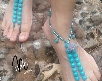 Earth Bound Barefoot Sandals.