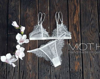 weddinglingerie/ white lingerie/ erotic lingerie/ lingerie set/ lace lingerie/ bridal lingerie/ see through lingerie/ honeymoon lingerie