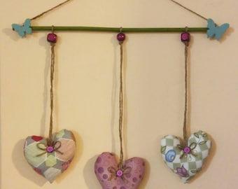 Hearts to hang