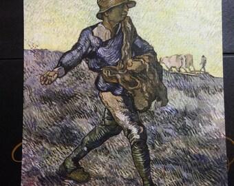 The Sower (after Millet) by Vincent Van Gogh print