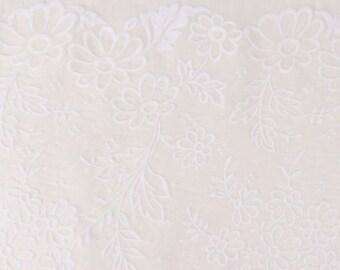 Velvet dévoré 100% silk Haute Couture
