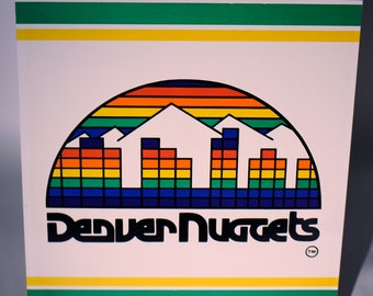 Classic NBA Sports Tin- Denver Nuggets