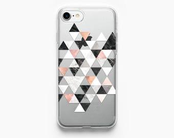 iPhone 7 Case Marble iPhone 6 Case iPhone 7 Plus Case iPhone 6 Plus Case iPhone 6s Case iPhone 5s Case iPhone 6s Plus Case Geometric Clear