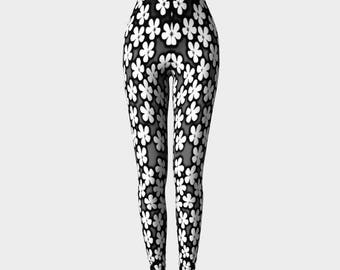 Black and White Buttercup Leggings