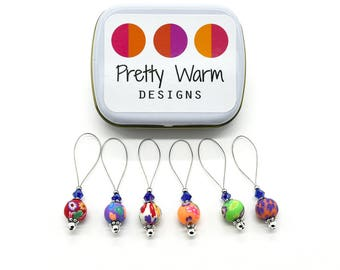 Beaded Stitch Marker - Knitting Marker - Stitch Markers for Knitting - Snag Free Stitch Marker - Knitting Tool - Knit Marker - Stitch Marker