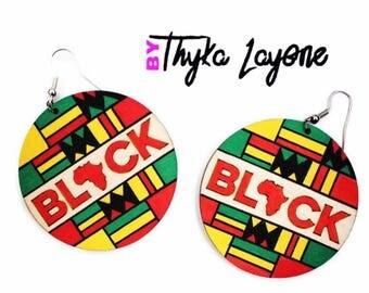 African Black Africa earrings - earrings African Black Africa