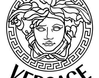 Versace Medusa Decal