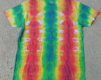 Adult small tie dye stripeys