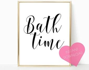 INSTANT DOWNLOAD, bathroom decor, bathroom wall decor, girl bathroom decor, bathroom art, printable wall art, washroom decor, washroom print