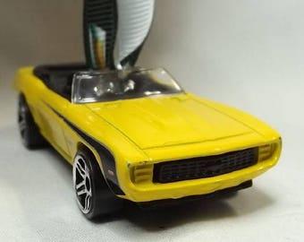 69 Chevy Camaro convertible - FREE SHIPPING - Christmas Ornament -