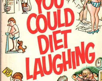 The Berenstains You Could Diet Laughing Paperback Book 1970