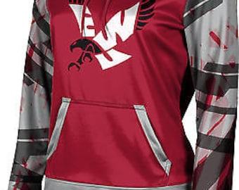 ProSphere Girls' Eastern Washington University Crisscross Pullover Hoodie (EWU)