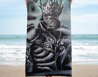 Skeleton Warrior Towel
