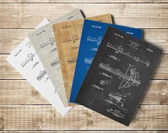 Fencing Sword, Fencing Poster, Fencing Patent, Rapier Style, Sword Poster, Fencing Blueprint, Sword Blueprint, Fencing Art, INSTANT DOWNLOAD