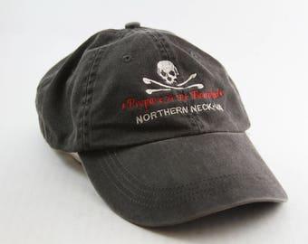 Skull Crossbones Hat Etsy