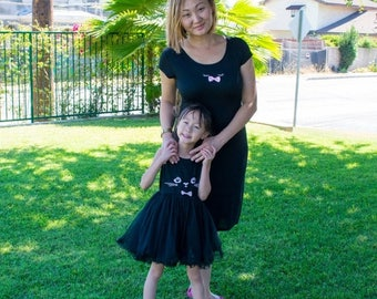 Mommy & Me Kitty Dress