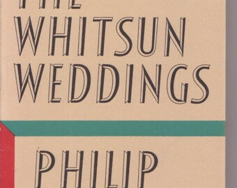 Whitsun Weddings; Poems PHILIP LARKIN Faber & Faber, London/ hardcover /dustjacket 1977