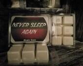Never Sleep Again, waxmelts