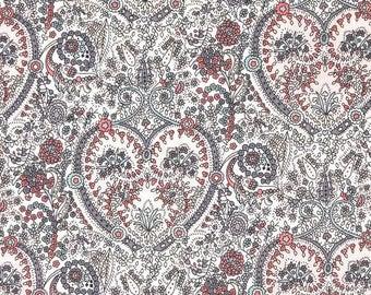 Kitty Grace A Cream Liberty of London Cotton Tana Lawn Fabric Fat Quarter