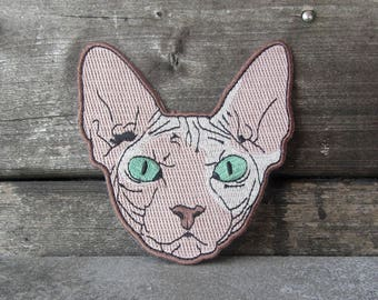 Sphynx Cat Patch