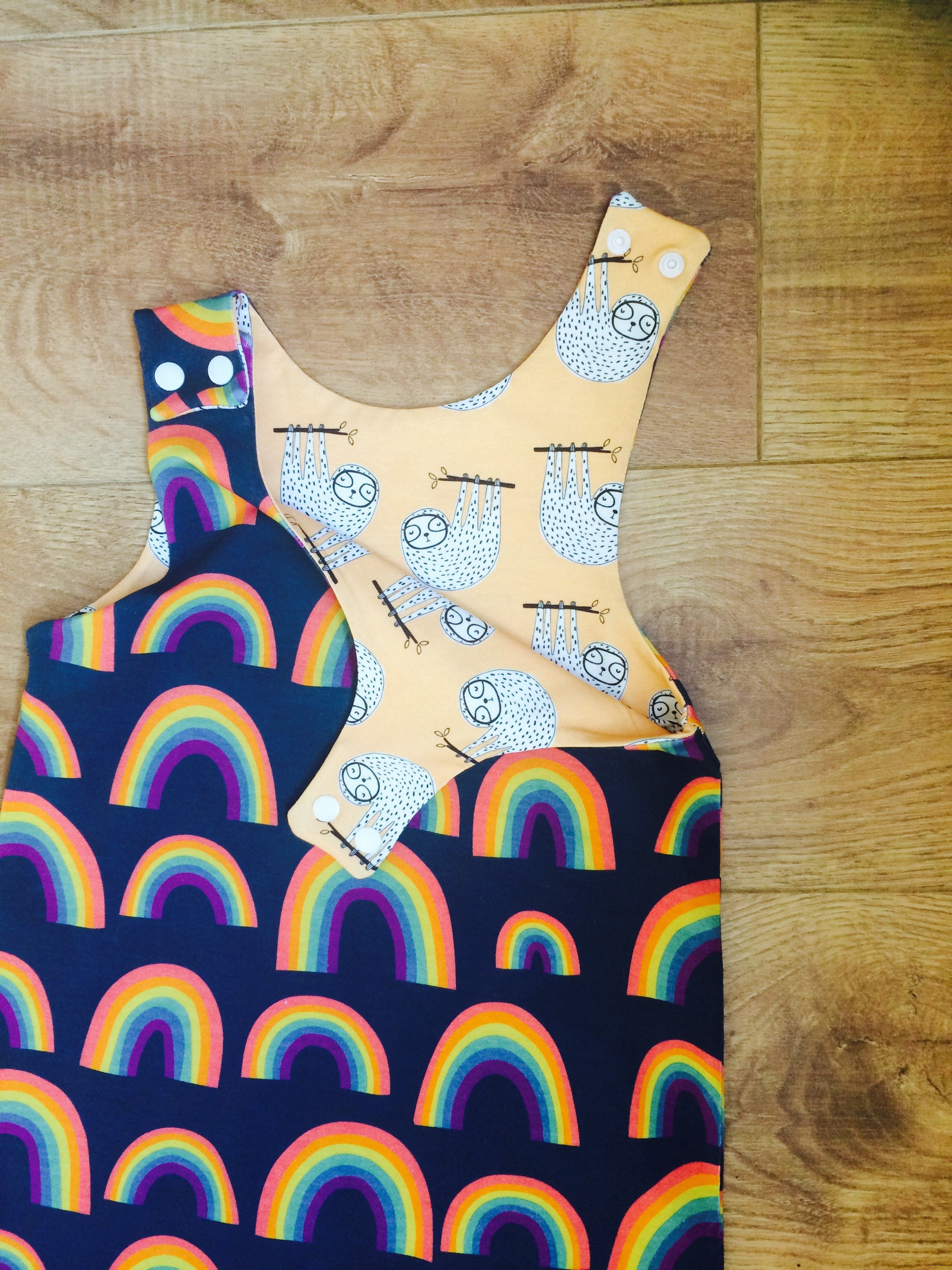 Rainbow Baby Harem Dungarees Baby Rainbow Clothes