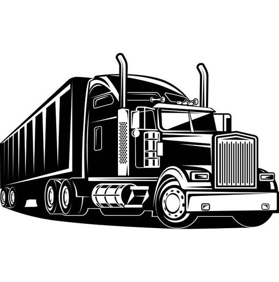 truck driver 2 trucker big rigg 18 wheeler semi tractor