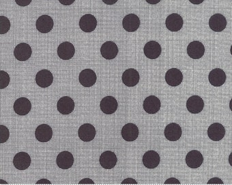 1 yard Moda Circulus Charcoal cotton fabric designed by Jen Kingwell