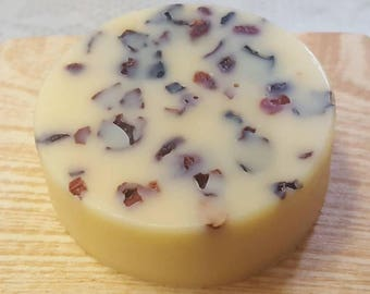 Rose Hip and Cocoa Butter Lotion Bar | Pamper Gift | Handmade Beauty | Solid Lotion Bar | 2 ounce