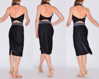 """Elegant PUGLIESE and BIAGI """"better than a dress"""" Tango Apparel - Black and White in XS or S"""