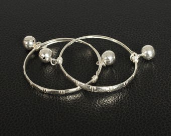 Sterling Silver Baby's/ Childs Anklets