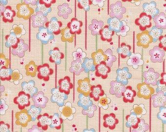 Fabric Japanese flower 175 cm * 100 cm (comfortable)