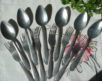 Set Spoons Forks  Made in USSR, 1980s