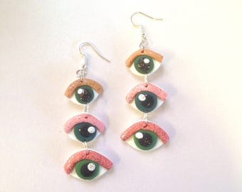 Eye spy dangles
