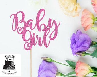Baby Girl Topper - Baby Shower - Baby Girl Decor