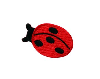 Patch/Ironing-ladybug animal-red-5 x 3.5 cm-by catch-the-Patch ® patch appliqué applications for ironing application patches patch