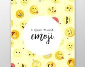 Emoji Movie Print, Univer...