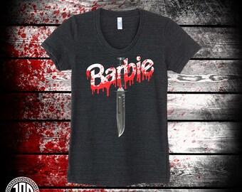 Barbie Killer - Women's Tee - Black