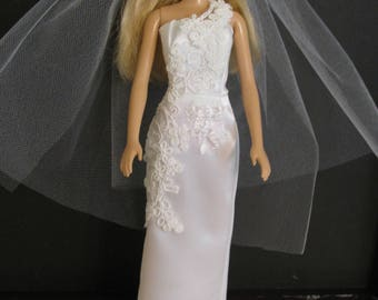 Barbie doll clothes-Wedding