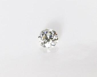 Antique Old European Cut Diamond, I VS2, 0.31 Ct