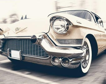 Vintage Cadillac Classic Car Automobile Picture Wall Art Retro Print Poster A3 A4