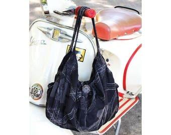 Handbag / Shoulder bag / Japanese style hobo bag slouchy