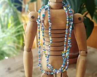 Chain of small Czech glass beads