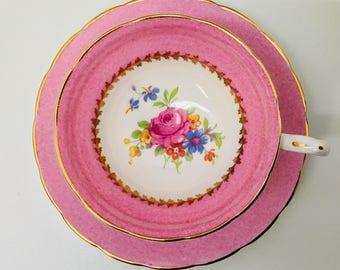 Grosvenor teacup and saucer
