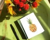 Pineapple - Watercolor Card - Instant Download - printedlotus