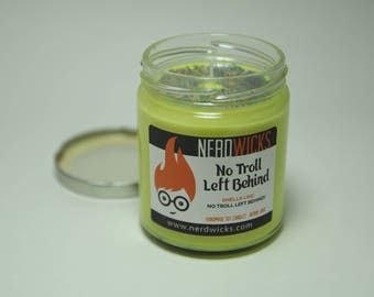 No Troll Left Behind - Trolls Inspired Candle - Cherry Soda Scent