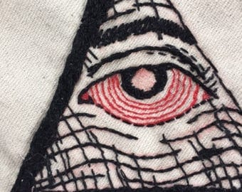Illuminati Eye Patch