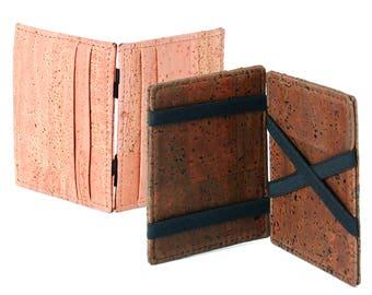 Cork Magic Wallet / Card Holder